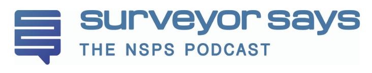 "Nolan Mark joins Tim Burch on the ""Surveyor Says!"" Podcast"